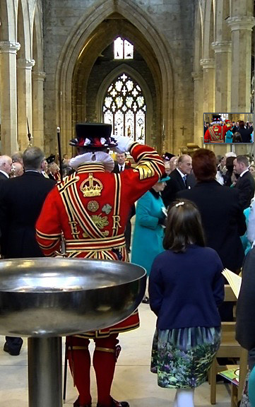 Her Majesty the Queen at Sheffield Cathedral