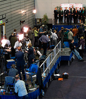 CVC staging and media support during the 2010 general election count 2