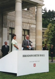 Princess Margaret Opening Brodsworth Hall