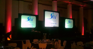 Multiple Screen Presentation - Sheffield Internation Venues, Staff Conference and Awards, City Hall Ballroom, Sheffield